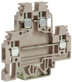 Зажим проходной 2-х уровн. DAS.4GR 4кв.мм сер. DKC ZDS100GR-RET