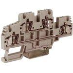 Зажим проходной HMD.2GR 2-х уровн. 2.5кв.мм сер. DKC ZHD100GR