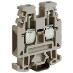 Зажим проходной RP.4/6GR 4кв.мм сер. DKC ZRP300GR