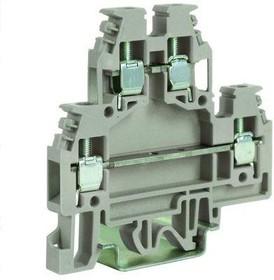 Зажим проходной DAS.4/LI 2-х уровн. с лампой/LED беж. DKC ZDS123