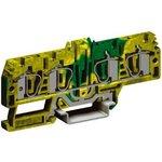 Зажим для заземления HTE.4/2+2 2 ввода/2 вывода 4кв.мм желт./зел. DKC ZHT270-RET