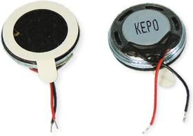 KP1530SP1-7021, 8 Ом, 0.5 Вт, 15x4 мм, Динамик