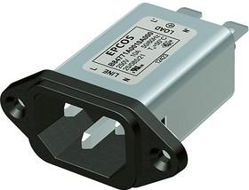B84771M 3A, IEC-Stecker Filter 3A 250V