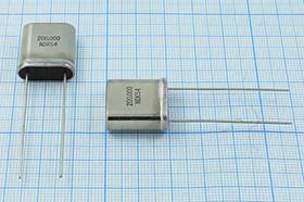 кварцевый резонатор 200кГц с большим кристаллом в корпусе HC33U, 200 \HC33U\\\\\1Г