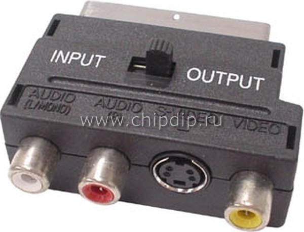 По идее, можно поискать разные переходники со SCART.  Раньше же подключали видеомагнитофоны к телевизорам только со...