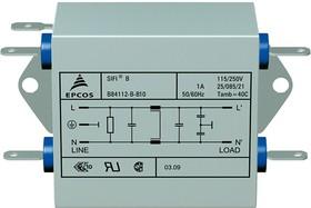 B84112B B 10, 2-LEITER EMV-FILTER 1A 115/250V