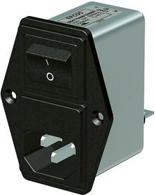 Фото 1/2 B84776M 6A, IEC-Stecker Filter mit Sicherung 6A 250V
