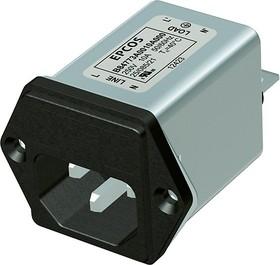 B84773M 4A, IEC-Stecker Filter mit Sicherung 4A 250V
