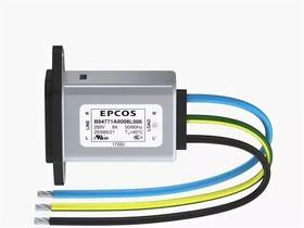 Фото 1/2 B84771A 12L, IEC Litz wire inlet Filter 12A 250V