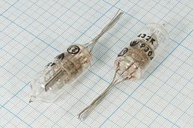 Фото 1/2 кварцевый резонатор 432кГц в стеклянном корпусе С, 432 \СС\\\\\1Г 19x46