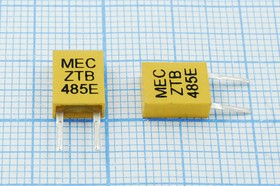 Керамические резонаторы 485кГц с двумя выводами, пкер 485 \C07x4x09P2\\3000\ \ZTB485E\2P-2