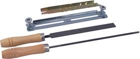 Заточной набор PATRIOT PG-SK4,8 круглый напильник4.8мм, плоский напильник, две ручки, калибр