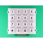 AK-1607-N-WWB-WP, Клавиатура