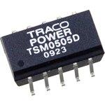 Фото 2/2 TSM0505D, DC/DC преобразователь, 1Вт, вход 5В, выход 5В,-5В/100mA