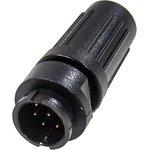 PY07-8Z вилка на кабель пластик. IP67 4А 250В