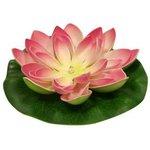 "Светильник 951 ""Лилия"" (садовый на солнечн. батареях) роз ..."