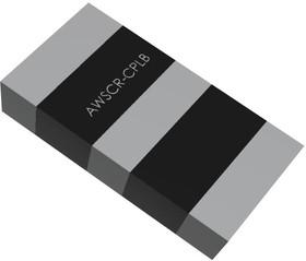 Фото 1/4 AWSCR-2.45CPLB-C30-T4, Резонатор, 2.45 МГц, SMD (Поверхностный Монтаж), 3 Вывода, 100 Ом, ± 0.5%, AWSCR Series