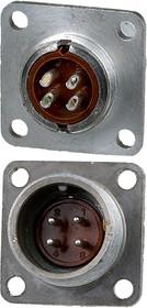 2PM18-4ZJQB2, вилка на корпус 4 контакта (аналог 2РМДТ18Б4Ш5В1В)