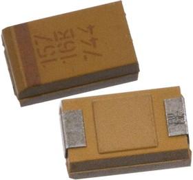 Фото 1/2 T491D157K016AT, танталовый SMD конденсатор 16В 150мкФ 10% D
