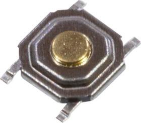 KAN0542-0155B-14 (аналог IT-1187-160GM-G SWT-41), кнопка тактовая 5.2х5.2 SMD h=1.5мм (IT-1187-160GM