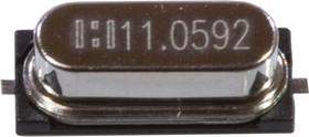 11.0592 MHZ HC-49SM, кварцевый резонатор