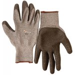Перчатки текстиль с латексным риф. покрытием 10/XL 27642