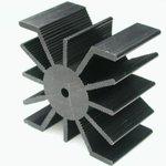 HS 136-30, Радиатор 30х50х50 мм, 7.9 дюйм*градус/Вт
