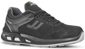 JALTONIC JY204 43, Black Aluminium Toe Safety Shoes