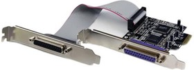 PEX2PECP2, 2 PORT PCI EXPRESS PARALLEL ADAPTER CARD