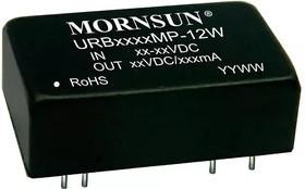 URB2405MP-12W, DC/DC преобразователь, 12Вт, вход 9-36В, выход 5В/2400мА
