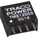 TME 0512S, DC/DC преобразователь, 1Вт, вход 4.5-5.5В ...