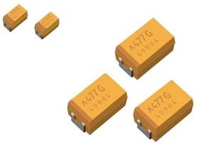 TCJB107M006R0045, Capacitor 1210 100uF 20%