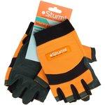 8054-02-L перчатки раб. муж., , цвет оранж+черный+зеленый, размер L