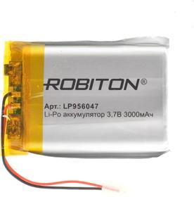 Фото 1/2 LP956047, Аккумулятор литий-полимерный (Li-Pol) 3000мАч 3.7В, с защитой