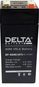 DT 4045(47), Аккумулятор свинцовый 4В-4.5Ач 47х47x105