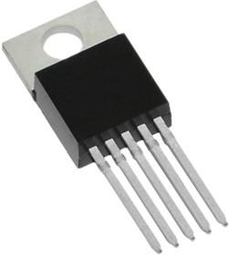 LM2575GT-ADJ, Понижающий DC-DC преобразователь, Uвх=до 40В, Uвых=1.23…37, 1А, 52кГц [TO-220-5L] (=LM2575T-ADJ)