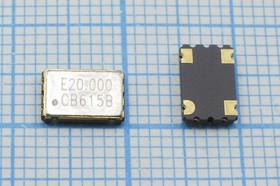 Кварцевый генератор 20.0МГц 3.3В, HCMOS в корпусе SMD 7x5мм, гк 20000 \\SMD07050C4\CM\3,3В\ SG-710ECK-B\EPSON