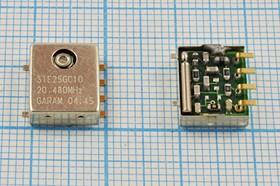 Термокомпенсированный кварцевый генератор 20.48МГц, 2.5ppm/-30~+75C, гк 20480 \VCTCXO\SMD126114M6\ T/CM\5В\STE25GC10\SUN