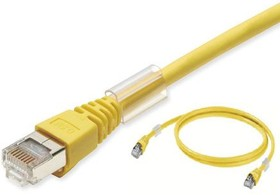 XS6W-6LSZH8SS150CM-Y, ETHERNET CAT6 CABLE LSZH YELLOW 1.5M