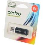 PERFEO PF-C13B008 USB 8GB черный BL1, Носитель информации