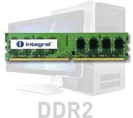 IN2T2GNXNFX, INTEGRAL 2GB DIMM DDR2 800MHZ PC2-6400 U