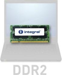 IN2V2GNWNEX, INTEGRAL 2GB SODIMM DDR2 667MHZ PC2-5300