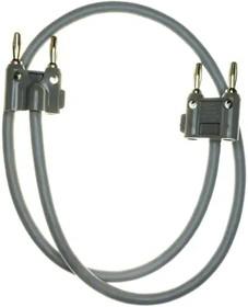 2BA-24, STP 0.609m 18AWG 2(Banana Plug) to 2(Banana Plug) PL/PL-PL/PL