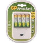 PB420GS130-2CR4, Устройство зарядное GP + 4 AA (1300мА*ч)