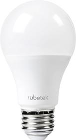 Фото 1/2 RUBETEK RL-3101, Лампа светодиодная с датчиком движения и освещённости,10Вт, 220В,E27,4000К