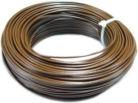 Монтажный провод НВ-4 0,12 мм2 ( коричневый ) 50 м