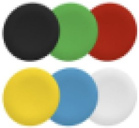ZBAF9, 6 colors plain cap for fl