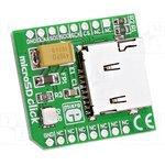 MIKROE-924, Плата макетная; гнездо карт SD; SPI; инструкция,