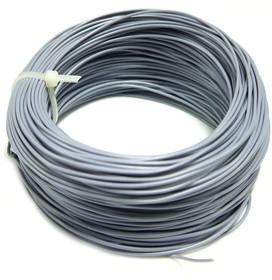 Монтажный провод НВ-4 0,2 мм2 ( серый ) 50 м