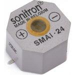 SMAI-24-P10, 24 мм, Пьезоизлучатель с генератором